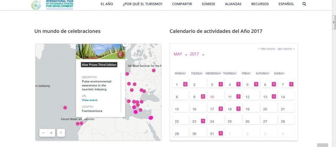 mapa eventos